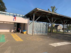Façade de l'école maternelle Francis Yard