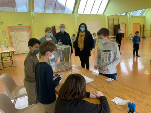 Vote des enfants pour l'élection des CME 2021